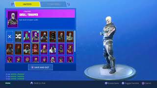🤯 RAREST FORTNITE ACCOUNT - Skull Trooper & Ghoul Trooper FOR SELL/TRADE ❗❗