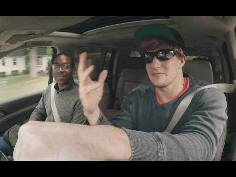 Gronk Undercover Lyft Driver