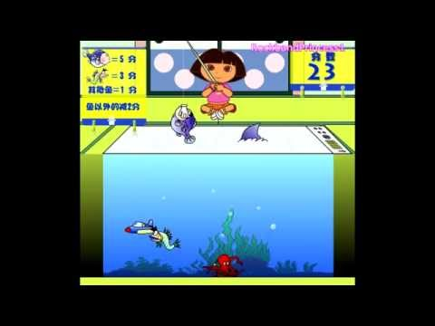 Dora The Explorer Fishing Games Online To Play For Free