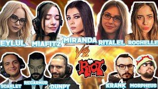 VADİNİN SULTANLARI vs RIOT! MİAFİTZ / MİRANDA / EYLÜL / RİTA / ROCHELLE  vs RIOT!