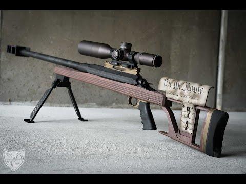 Armalite AR50A1 - 50BMG Destruction!