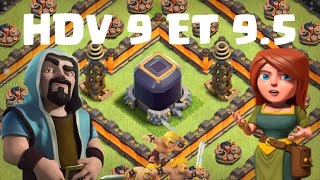 top base defense elixir noir hdv 9 et 9 5 clash of clans fr