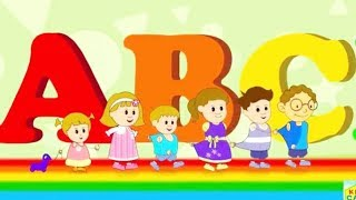 Colorful Game - Learning Alphabets - Kids Go To School - Chuns and Best Friends