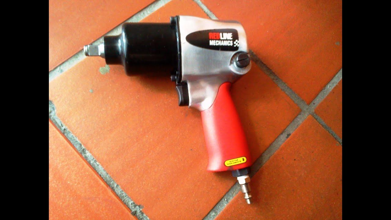Pistola de impacto neum tica red line parte 1 2 red for Manguera para aire comprimido