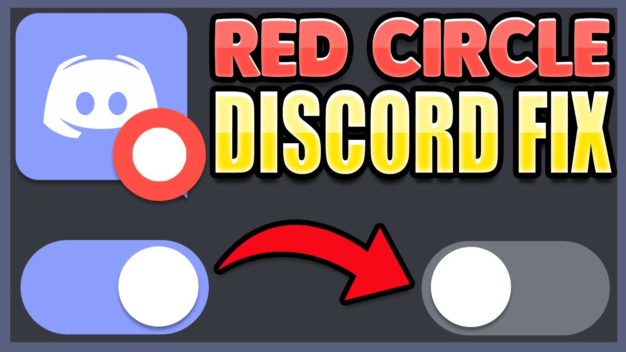 How To Fix The Red Circle On The Discord Icon 2017 2018 Fix Youtube