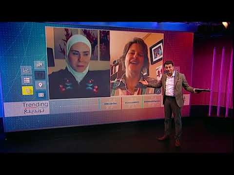 BBC عربية:بي_بي_سي_ترندينغ تلتقي السيدة الأمريكية التي أنقذت حياة الطفل السوري أحمد بتبرعها بكبدها