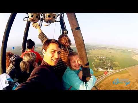 Полет на воздушном шаре в Каменце-Подольском