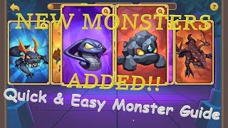 Idle Heroes: Quick & Easy Monster Guide (UPDATED WITH NEW MONSTERS!!)