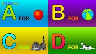 Скачать A Is For Apple Nursery Rhymes Animated Alphabet ABC Songs For Children