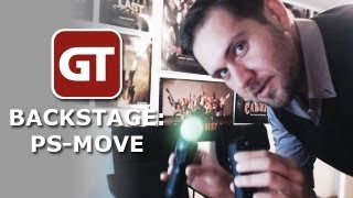 Thumbnail für GameTube Backstage: PlayStation Move im Let's-Play-O-Drom
