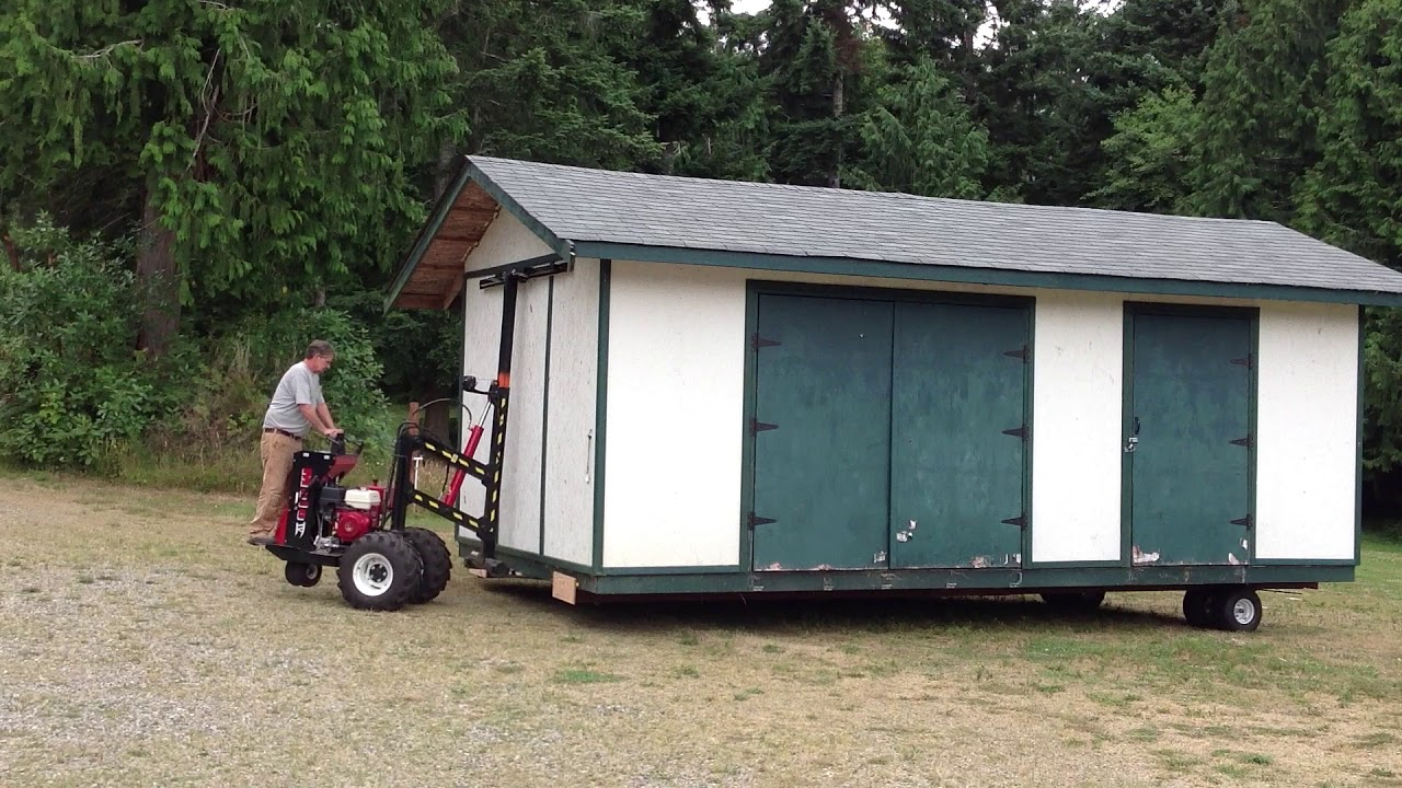 Northwest Shed Movers cabin, shed, gazebo and barn moving