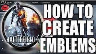 how to make a battle field 4 emblem (very easy)