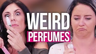 Trying PRUNE Perfume w/ Anjelah Johnson! (Beauty Break)