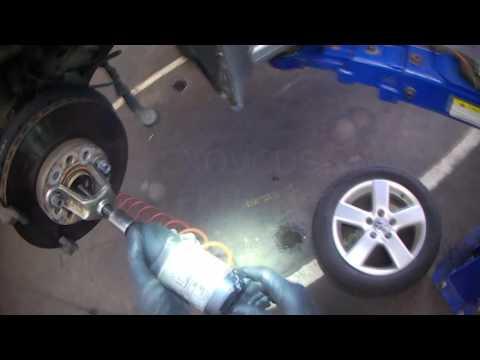 VW AJ: 2011 Jetta A6 / mk6 front strut removal