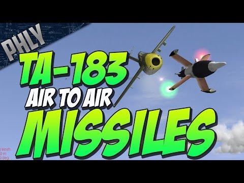 TA-183 AIR TO AIR MISSLES KILLS (IL-2 1946 Jet Gameplay)