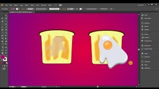 Adobe Illustrator  Tutorials bread icon   Part   28