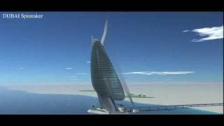 Skyscrapers, Grattacielo Dubai Spinnaker by Italy