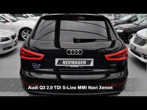 Audi q3 2 0 tdi s line mmi navi xenon 27013 auto kunz for Interieur q3 s line