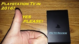 Playstation TV in 2016!  FULL SYSTEM REVIEW WITH GAMEPLAY