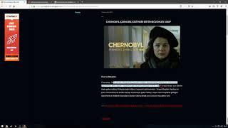 Çernobil dizisi izle altyazılı