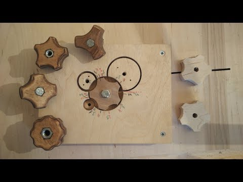 Making Knobs With The Knob Jig / Wooden Knobs Device 4 in 1 DIY