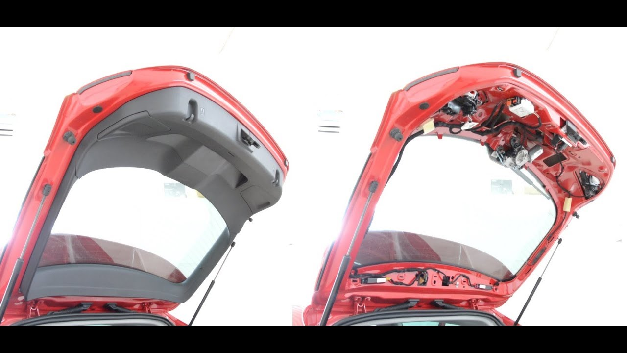 hight resolution of how to remove the tailgate panel seat leon 2014