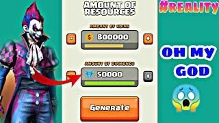 Generate Free 50000 Diamond and 1000000 Gold in Free Fire. #realityFreeDiamondFreeFire