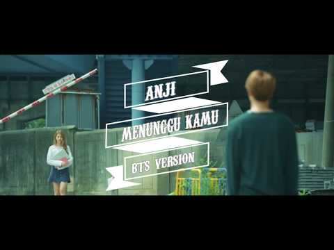 ANJI - MENUNGGU KAMU [BTS VERSION - Lyric Video]