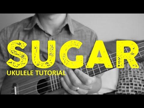 Sugar - EASY Ukulele Tutorial - Maroon 5 - Chords - How To Play