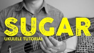 Download Sugar - EASY Ukulele Tutorial - Maroon 5 - Chords - How To Play Mp3