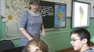 """Урок """"Путешествие по Южной Америке"""" с элементами критического мышления"""