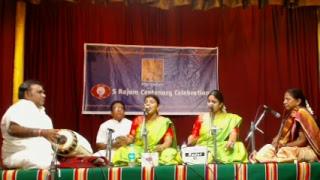 S.Rajam Centenary Concert by Ragam Sisters