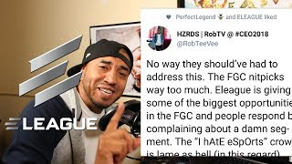 The FGC gets SOFT and The E-League Apologizes!! *BUTTON CHECK*