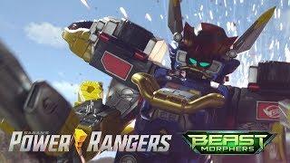 beast-x-megazord-first-battle-power-rangers-beast-morphers-episode-6-hangar-heist