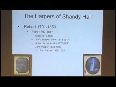 Harpersfield, the Harper Family and Shandy Hall (April 6, 2011)