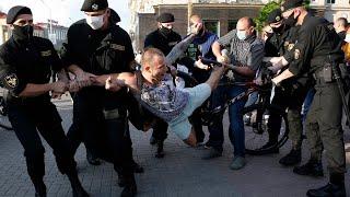 Реакция Лукашенко, массовые задержания. Беспорядки в Беларуси после выборов
