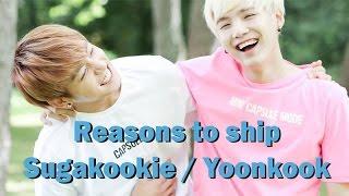 Reasons to ship Sugakookie / Yoonkook Compilation