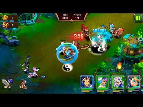 Magic rush heros island crusade level 2