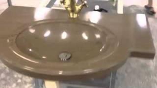 Раковина  из искусственного камня(производство раковин со столешницей из искусственного камня Hanex bl-010 раковина выполнена с того же материал..., 2012-02-10T06:31:59.000Z)