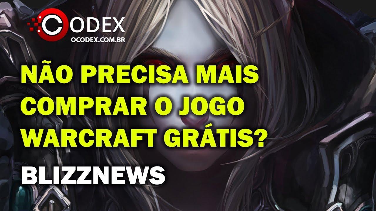 Não Precisa Mais Comprar o Jogo! World of Warcraft Ficou Grátis?