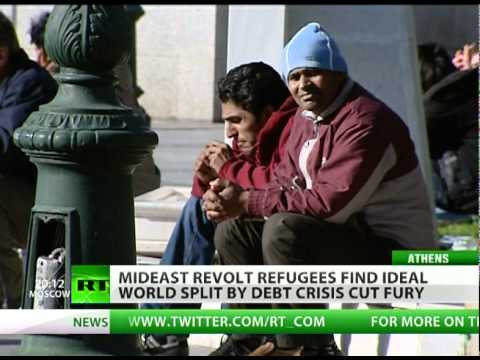 Revolt refugees flee frying pan of North Africa, end up in EU fire