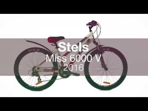 Женский велосипед Stels Miss 6000 V 2016.  Обзор