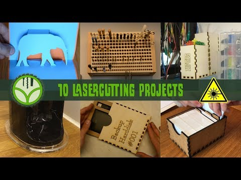 10 projects for the laser cutter