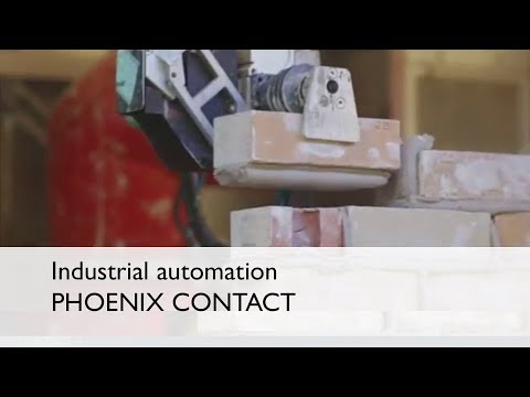 A brick-laying robot, Construction Robotics, and some innovative thinking - Phoenix Contact