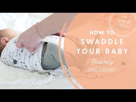 Ergobaby Original Swaddle For Your Infant - DEMO Video