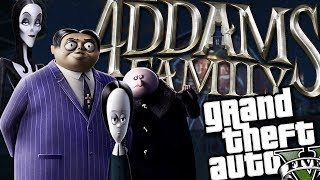 The Addams Family MOD (GTA 5 PC Mods Gameplay)