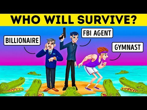 How Good Are Your Survival Instincts? Hard Riddles And Easy Emoji Games