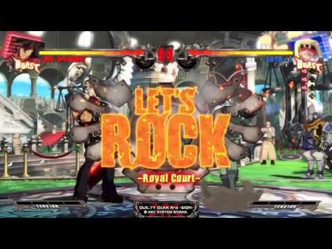 The Rumble Fish @ Generation   Games GGxrd Sign 281215 |
