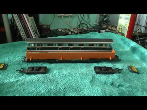 Model Railway Tutorials - Installing Lights in Lima Mk3 Coaches - 1 - Introduction and Buffet
