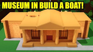 JAILBREAK MUSEUM in Roblox BUILD A BOAT w/ asimo3089!